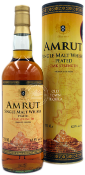 Amrut Peated Cask Strength Single Malt Whisky