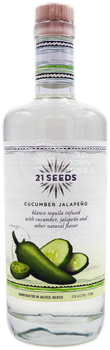21 Seeds Cucumber Jalapeno Infused Tequila