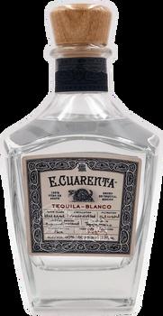 E.Cuarenta Blanco Tequila 375ml