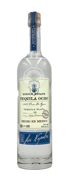 Ocho Tequila 2017 Los Nopales Single State Plata