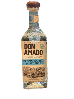Don Amado Tripon Barril and Bicuishe Mezcal