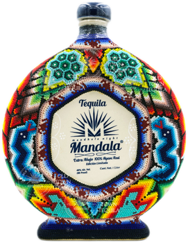 Tequila Mandala Extra Anejo Chaquira Art Limited Edition