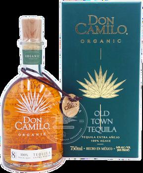 Don Camilo Organic 8 Years aged Extra Anejo