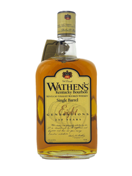 Wathen's Eight Generations Single Barrel Kentucky Bourbon