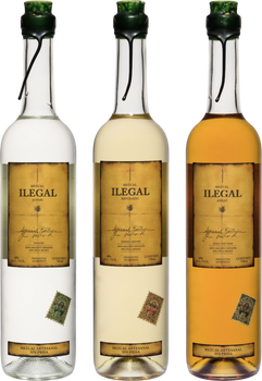 Ilegal Mezcal Expression Set of 3x 750ml