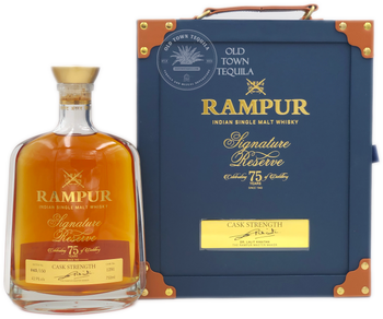 Rampur Indian Single Malt Whisky Signature Reserve Celebrating 75 years of Distillery