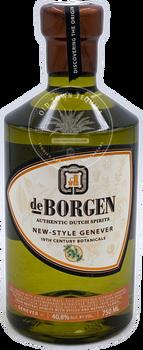 de Borgen Authentic Dutch Spirits New-Style Genever 750ml