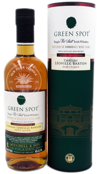 Green Spot Single Pot Still Irish Whiskey Chateau Leoville Barton