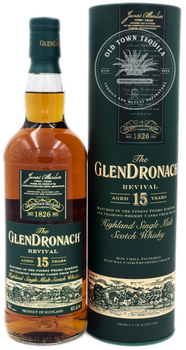 The GlenDronach  Revival Aged 15 Years Highland Single Malt Scotch Whisky 750ml