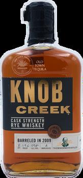Knob Creek Cask Strength Rye Whiskey Barreled in 2009 Limited Release 750ml