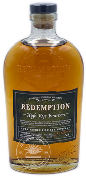 Redemption Pre-Prohibition Whiskey Revival High Rye Bourbon 750ml
