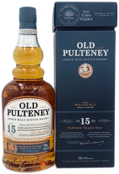 Old Pulteney Single Malt Scotch Whisky Aged 15 Years 750ml