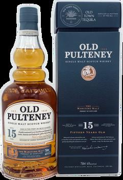 Old Pulteney Single Malt Scotch Whisky Aged 15 Years 750ml