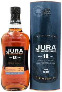 Jura Single Malt Scotch Whisky Aged 18 Years 750ml