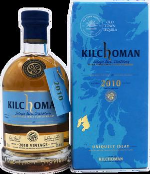 Kilchoman Islay Single Malt Scotch Whisky 2010 Vintage Limited Edition 750ml