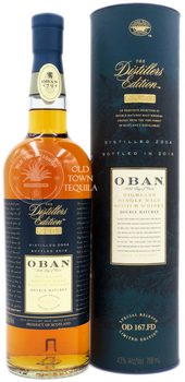 Oban Little Bay of Caves Highland Single Malt Scotch Whisky The Distillers Edition 2004