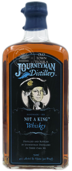 Journeyman Not a King Rye Whiskey 750ml
