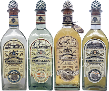 Limited Edition Fortaleza Winter Blend 2019 + Fortaleza Blanco, Still Strength, & Anejo 750ml Combo