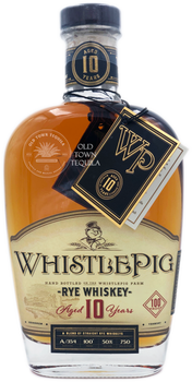 WhistlePig Rye Whiskey Aged 10 Years 750ml