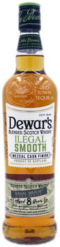 Dewar's Blended Scotch Whisky Illegal Smooth Mezcal Cask Finish Aged 8 Years 750ml