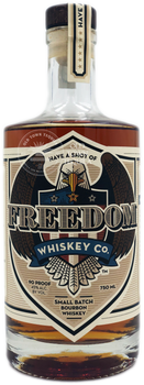 Freedom Small Batch Bourbon Whiskey 750ml