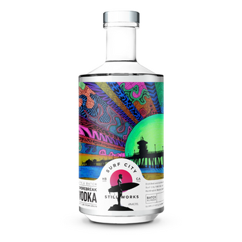 Surf City Small Batch Shorebreak Vodka 750ml