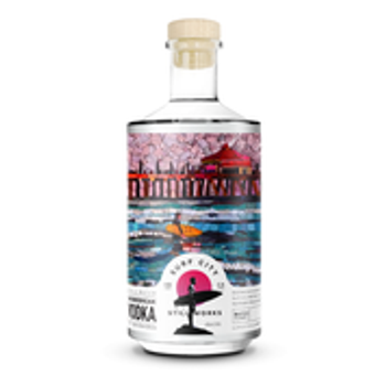 Surf City Small Batch Shorebreak Vodka 750ml