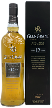 Glen Grant Rothes Speyside Single Malt Scotch Whisky Aged 12 Years 750ml