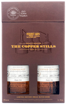 Mount Gay Origin Series The Copper Stills Vol 2 Limited Edition Small Batch Rums 2 x 375ml