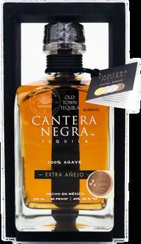 Cantera Negra Extra Anejo Tequila 750ml