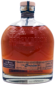 Redemption Pre-Prohibition Whiskey Revival Bourbon Aged 9 Years