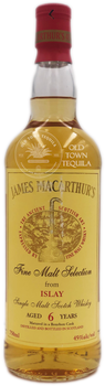 James MacArthurs Fine Malt Selection from Islay Single Malt Scotch Whisky Aged 6 Years 750ml