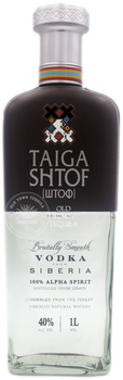 Taiga Shtof Brutally Smooth Vodka