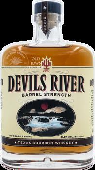 Devils River Barrel Strength Texas Bourbon Whiskey 750ml