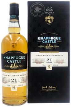 Knappogue Castle Limited Release Triple Distilled Single Malt Irish Whiskey 21 Years Old