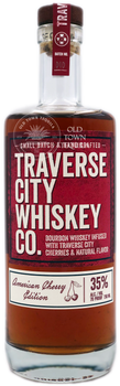 Traverse City Whiskey Co Bourbon Whiskey American Cherry Edition 750ml