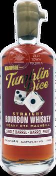 Deadwood Tumblin Dice Straight Bourbon Whiskey Heavy Rye Mashbill 750ml
