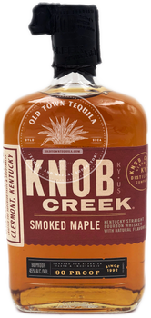 Knob Creek Smoked Maple Kentucky Straight Bourbon Whiskey 750ml