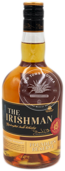 The Irishman Founder's Reserve  Handcrafted Irish Whiskey 750ml