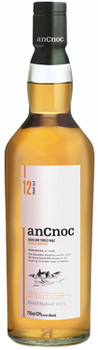 AnCnoc 12 Years Old Highland Single Malt Scotch Whisky 750ml