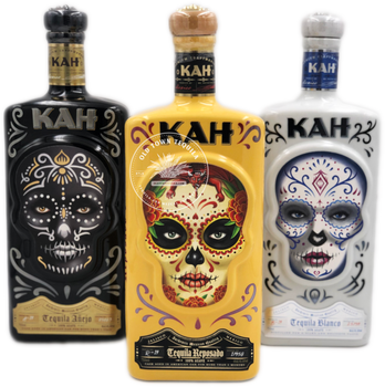 Kah Tequila 3x 750ml Set