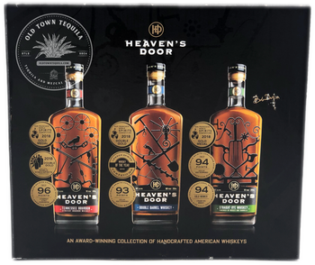 Heaven's Door An Award Winning Collection of Handcrafted American Whiskeys 3x 200ml