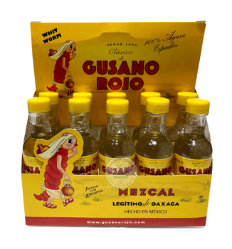 Gusano Rojo 50ml Ten Pack Mezcal