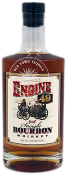 Engine 49 Straight Bourbon Whiskey 750ml