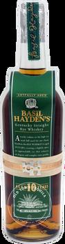 Basil Hayden's Kentucky Straight Rye Whiskey Aged 10 Years 750ml