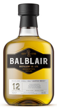 Balblair 12 Year Old Highland Single Malt Scotch Whisky 750ml