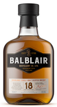 Balblair 18 Year Old Highland Single Malt Scotch Whisky 750ml