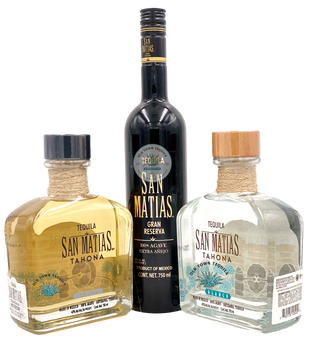 San Matias Set of Tahona and one  Extra Anejo Tequila