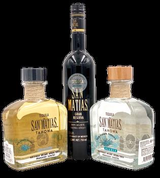 San Matias Set of Tahona and one  Extra Anejo Tequila
