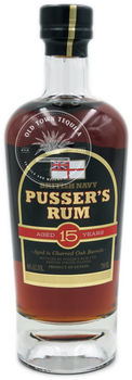 British Navy Pusser's Rum Aged 15 Years 750ml